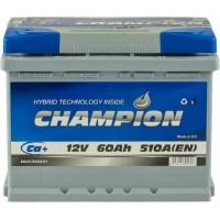 Автомобильный аккумулятор Champion 6СТ-60 L+ Standart