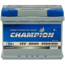Автомобильный аккумулятор Champion 6СТ-60 R+ Standart