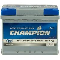 Автомобильный аккумулятор Champion 6СТ-65 L+ Standart
