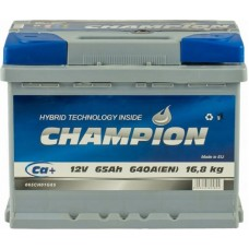 Автомобильный аккумулятор Champion 6СТ-65 R+ Standart