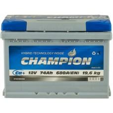 Автомобильный аккумулятор Champion 6СТ-74 R+ Standart