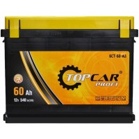 Автомобильный аккумулятор Top Car 6СТ-60 R+ Profi