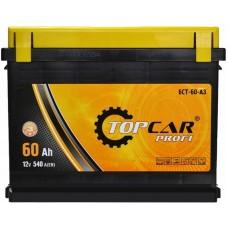 Автомобильный аккумулятор Top Car 6СТ-60 L+ Profi