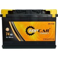 Автомобильный аккумулятор Top Car 6СТ-74 R+ Profi