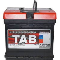 Автомобильный аккумулятор TAB 6СТ-55 R+ Magic