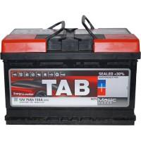 Автомобильный аккумулятор TAB 6СТ-75 R+ Magic