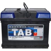Автомобильный аккумулятор TAB 6СТ-55 L+ Polar