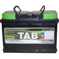 Автомобильный аккумулятор TAB 6СТ-70 R+ EcoDry