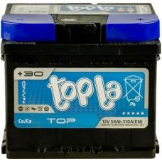 Автомобильный аккумулятор Topla 6СТ-54 R+ Top