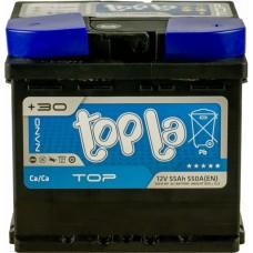 Автомобильный аккумулятор Topla 6СТ-55 R+ Top 0154072
