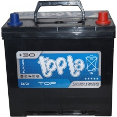 Автомобильный аккумулятор Topla 6СТ-60 R+ Top