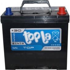 Автомобильный аккумулятор Topla 6СТ-65 R+ Top
