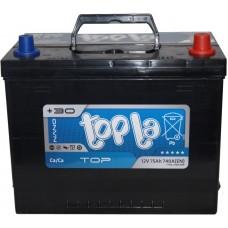 Автомобильный аккумулятор Topla 6СТ-75 R+ Top