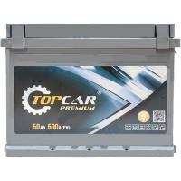 Автомобильный аккумулятор Top Car 6СТ-60 L+ Premium