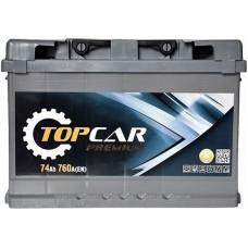 Автомобильный аккумулятор Top Car 6СТ-74 R+ Premium