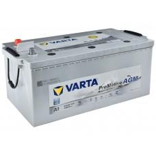 Грузовой аккумулятор Varta 6СТ-210 L+ AGM Start Stop