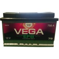 Автомобильный аккумулятор Vega 6СТ-78 R+ EFB Start/Stop