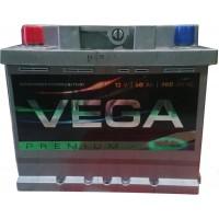 Автомобильный аккумулятор Vega 6СТ-50 L+ Premium