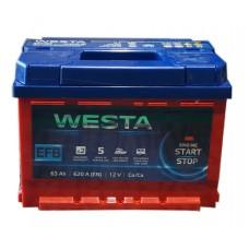 Автомобильный аккумулятор Westa 6СТ-63 L+ EFB Start/Stop