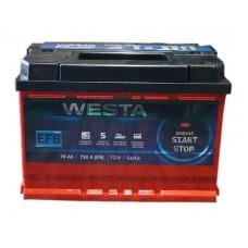 Автомобильный аккумулятор Westa 6СТ-78 R+ EFB Start/Stop