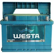 Автомобильный аккумулятор Westa 6СТ-74 R+ Premium
