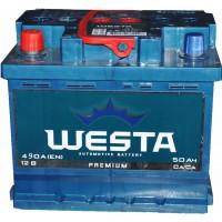 Автомобильный аккумулятор Westa 6СТ-50 L+ Premium