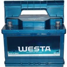 Автомобильный аккумулятор Westa 6СТ-60 R+ Premium