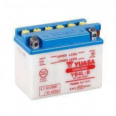 Мото аккумулятор Yuasa YB4L-B Кислотный