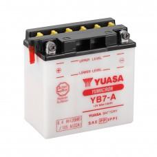 Мото аккумулятор Yuasa YB7-A Кислотный