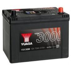 Автомобильный аккумулятор Yuasa 6СТ-72 R+ SMF