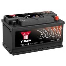 Автомобильный аккумулятор Yuasa 6СТ-80 R+ SMF