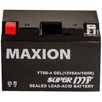 Мото аккумулятор Maxion YT 9B-4 Gel