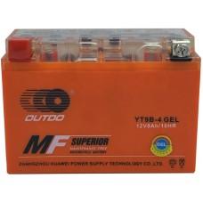 Мото аккумулятор Outdo YT9B-4 Gel