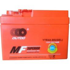 Мото аккумулятор Outdo YTR4A-BS GEL AGM