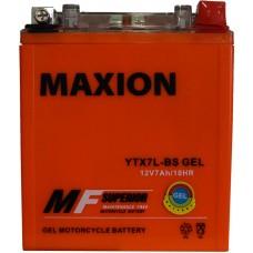 Мото аккумулятор Maxion YTX7L-BS Gel