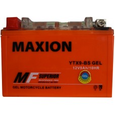 Мото аккумулятор Maxion YTX9-BS Gel
