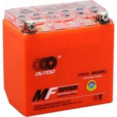 Мото аккумулятор Outdo YTX14-BS Gel