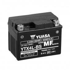 Мото аккумулятор Yuasa VRLA YTX4L-BS AGM