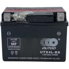 Мото аккумулятор Outdo YTX4L-BS AGM