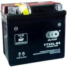 Мото аккумулятор Outdo YTX5L-BS AGM