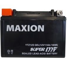 Мото аккумулятор Maxion YTZ12S Gel