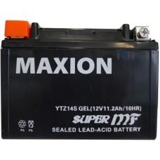 Мото аккумулятор Maxion YTZ14S Gel