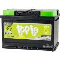 Автомобильный аккумулятор Topla 6СТ-70 R+ Top AGM Stop & Go
