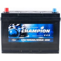 Автомобильный аккумулятор Champion 6СТ-100 L+ Jis Black