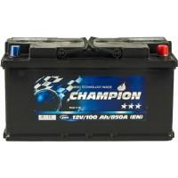 Автомобильный аккумулятор Champion 6СТ-100 R+ Black