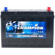 Автомобильный аккумулятор Champion 6СТ-100 R+ Jis Black
