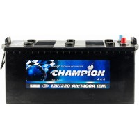 Грузовой аккумулятор Champion 6СТ-220 L+ Black