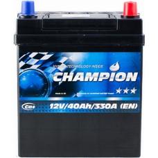 Автомобильный аккумулятор Champion 6СТ-40 R+ Jis Black