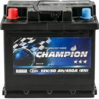 Автомобильный аккумулятор Champion 6СТ-50 L+ Black