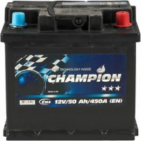Автомобильный аккумулятор Champion 6СТ-50 R+ Black